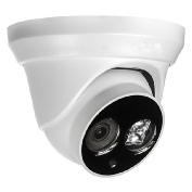 White dome 4 megapixels IP camera