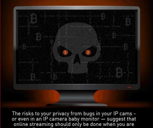 Is your ip camera secure from hackers? Infographic