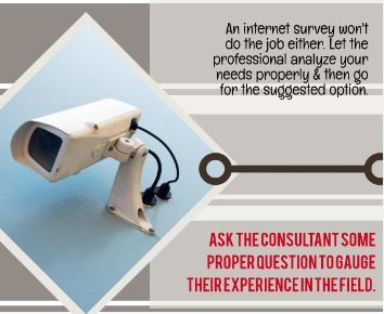 Reasons why surveillance systems professional installation – Infographic