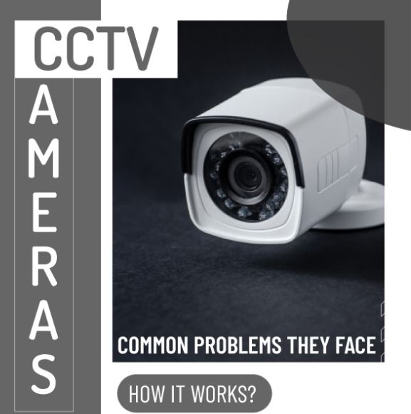 CCTV CAMERAS – Common Problems they face | Infographic
