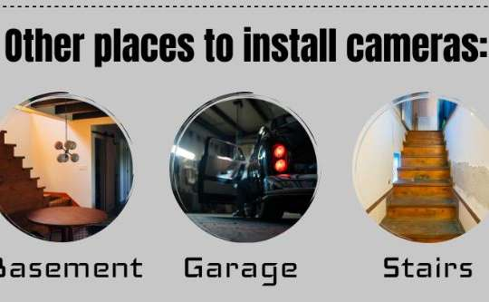 Tips for Home Security Cameras   Infographic